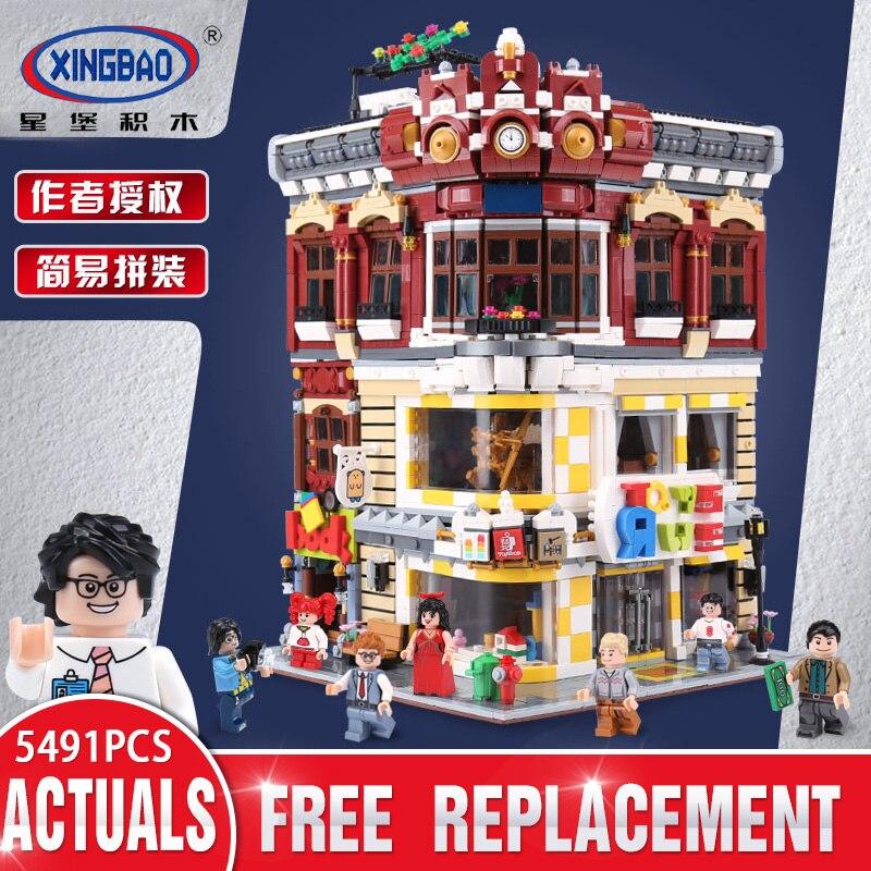 XingBao 01006 série créative MOC City les jouets et la librairie ensemble Compatible avec lego enfants blocs de construction briques jouet cadeau