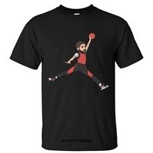 cc2dd00084c91b Men T shirt Happwan Drake Jumpman Cotton T Shirt funny t-shirt novelty  tshirt women