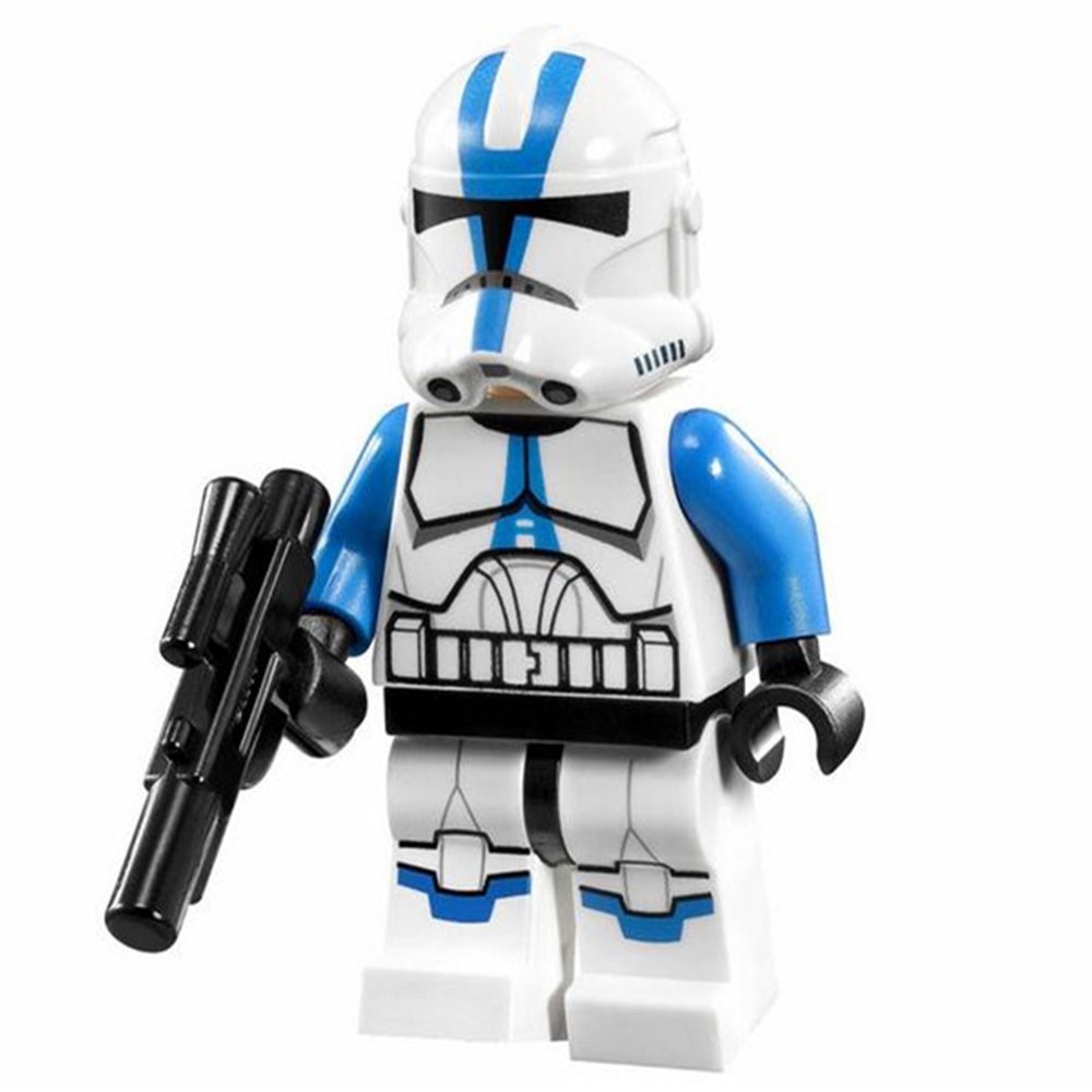 Single Sale STAR WAR Utapau Clone Trooper Commander Appo Storm Rogue One Darth Vader Minifig Building Blocks Kids Toys Gifts
