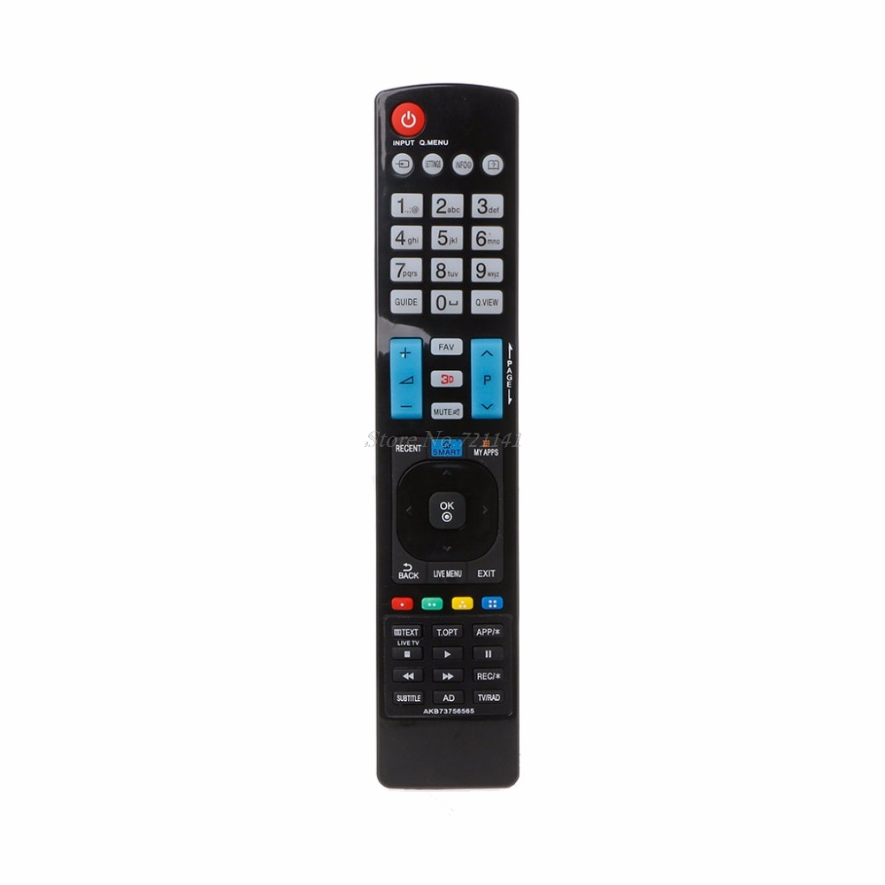 Universal Television Remote Control Replacement For LG AKB73756565 3D SMART APPS TV Electronics Stocks