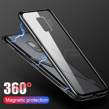 Magnetic Metal Case For Samsung Galaxy S10 S9 S8 Plus S7 Edge Note 9 8 S10E A7 A9 A6 A8