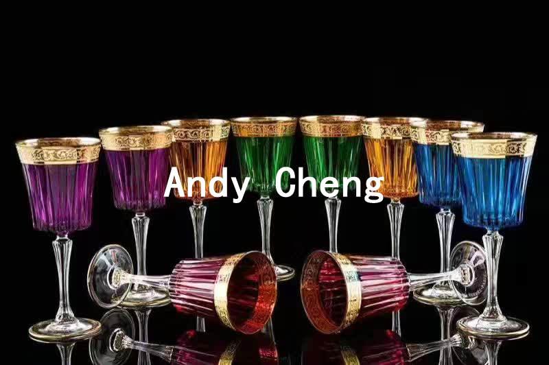 Высокого качества с украшением в виде кристаллов бокалы для красного вина бокал для коктейлей 2 шт/setcrystal очки чашки для бара питие для вечер
