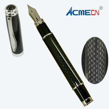 Free shipping Classic and Popular Carbon Fiber Fountain Pen