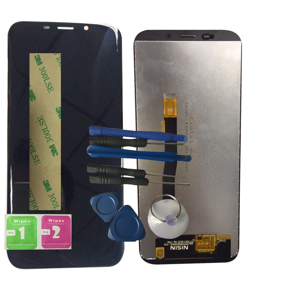 RYKKZ For NSF599HD3003L-V01 LCD Display With Touch Screen Digitizer Assembly Replacement With Tools+3M StickerRYKKZ For NSF599HD3003L-V01 LCD Display With Touch Screen Digitizer Assembly Replacement With Tools+3M Sticker