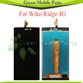 For Wiko Ridge 4G LCD Display Touch Screen Digitizer Assembly Free Shipping