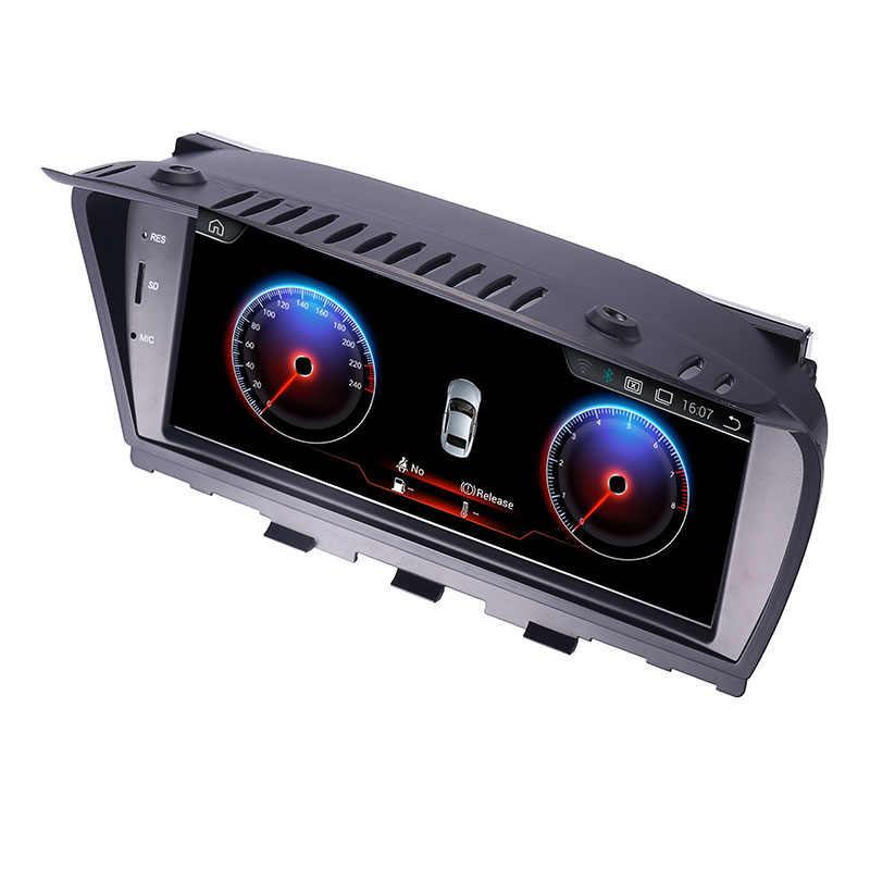 """8,8 """"Android 7,1 Экран Автомобильный мультимедийный плеер для BMW серий 5 E60 E61 E62 gps навигации автомобиля Радио Стерео рулевое колесо bluetooth"""
