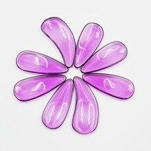 Фиолетовый кристалл ногтей высокого класса ногтей натуральные ногти Zither для начинающих, чтобы практиковаться палец выбирает Zither аксессуары