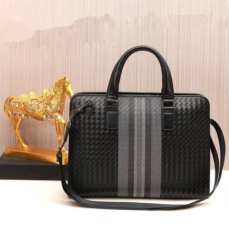 Kaisiludi embroidery men s handbag leather horizontal men s bag business cowhide single shoulder oblique satchel