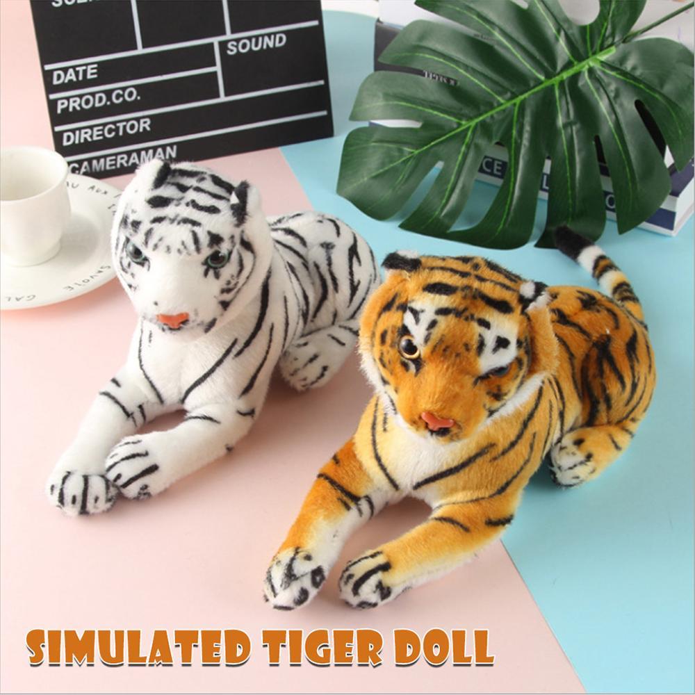 Caliente simulación amarillo tigre blanco de peluche de juguete muñeca de los niños muñeca toma muñeca regalo Partes niños RC coches alemán Control remoto simulación juguete Tigre tanque para niño Mini regalo
