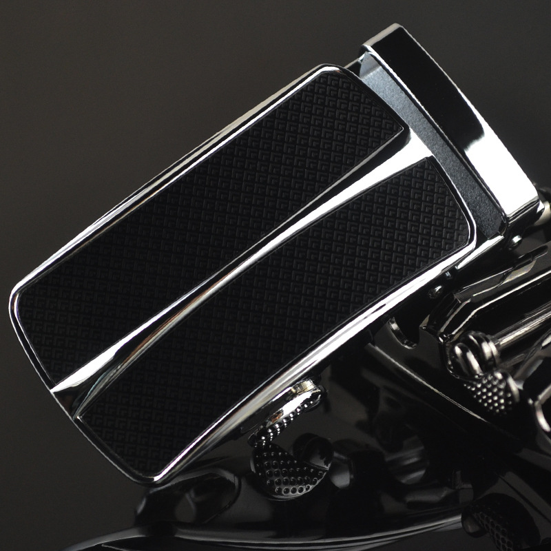 3.5cm Width Automatic Belt Buckle Designer Luxury Leather Wide Wait Belt Buckle Head CE55-0093