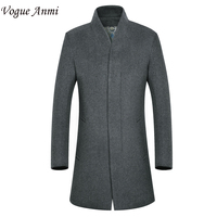 Vogue Anmi New Man Long Trench Coat Wool Coat Winter Men S Wool Thick Coat Mens