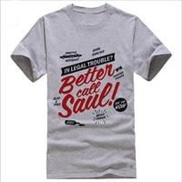 BETTER CALL SAUL T Shirt Men S BREAKING BAD Los Pollos Hermanos Printed T Shirt US