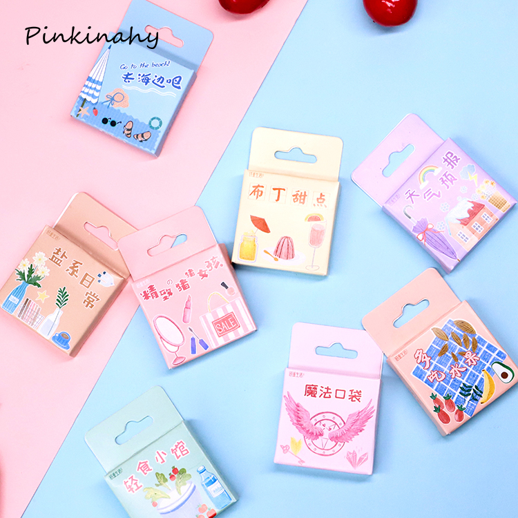 16 sheets 208 Pcs Round Notes Seal Scrapbooking gift Diary Planner Deco Sticker