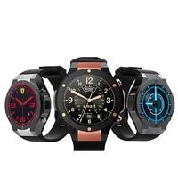 Quad core 3g smart watch gps 1,39 ''2MP камерой мобильного Android 5,0 MTK6580 quad core 1 GB + 16 GB сердечный ритм контрольный шагомер
