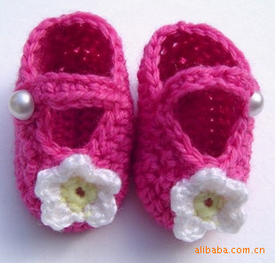 QYFLYXUEHand Crochet Baby Shoes, Hand Hooks, Baby Wool Shoes, Soft Bottom Wool Shoes, Toddler Shoes.