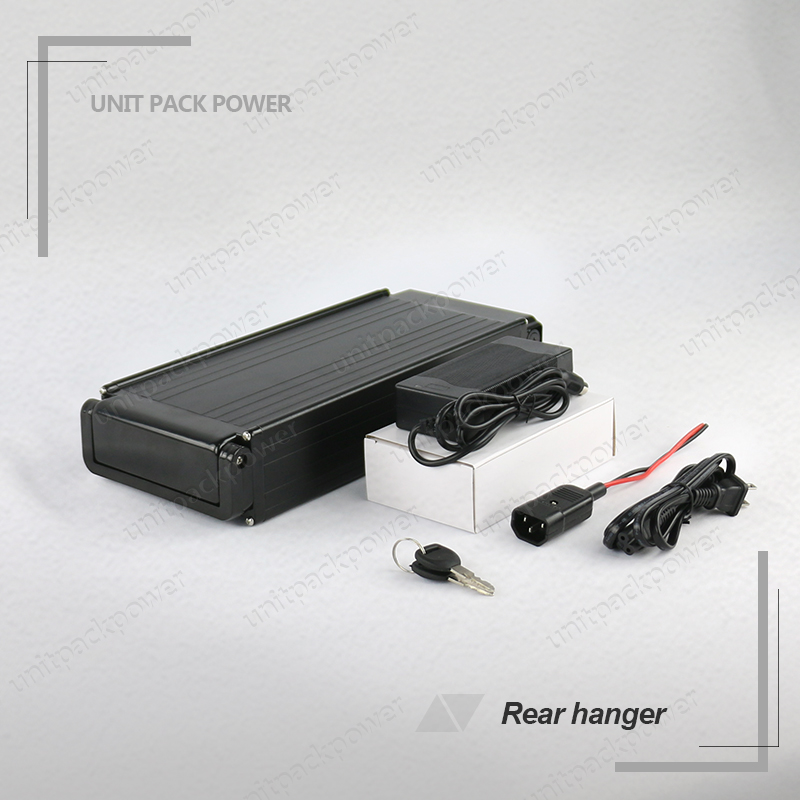 US EU No Tax Rear Rack style 36Volt 500Watts Electric Bike Battery 36V 12Ah Lithium Battery with BMS 2A Charger us eu no tax diy 48 volt li ion battery pack electric bike battery with 54 6v 2a charger and 25a bms for 48v 15ah lithium batter