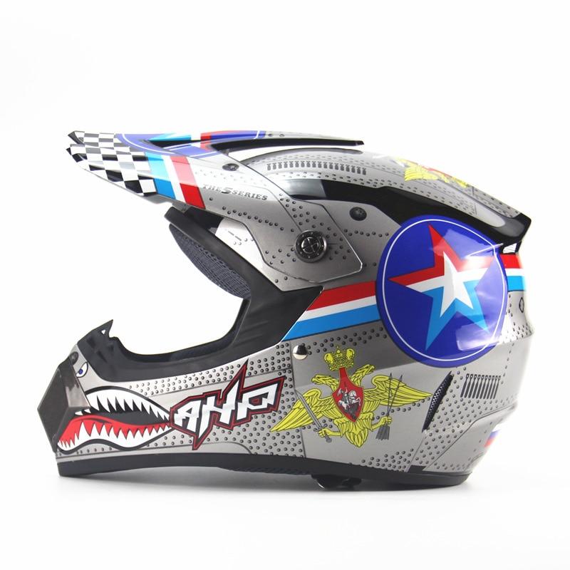 AHP ATV Off-road Racing Motocross Helmets Motorcycle Riding Dirt bike Downhill MTB DH Helmet Motorbike Moto Helmet