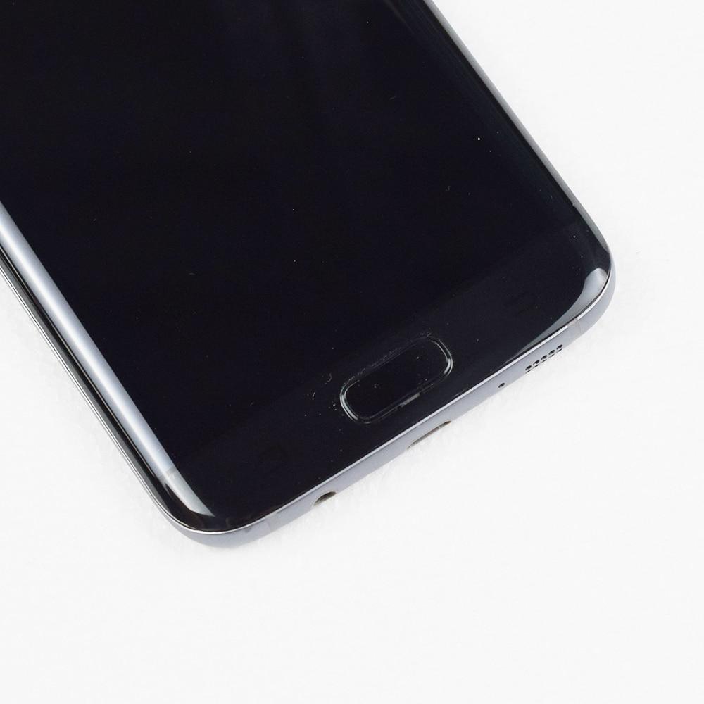 ORIGINAL 5.5 ''SUPER AMOLED LCD avec cadre pour SAMSUNG Galaxy s7 edge G935 G935F écran tactile numériseur affichage + Service Pack - 3