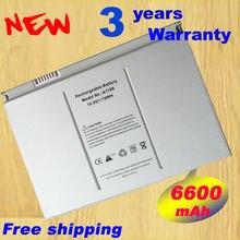 6600mAh лаптоп с Батарея A1189 для Apple MacBook Pro 17 дюймов MA092T MA897X/MA611B A1151 A1212 A1229 A1261