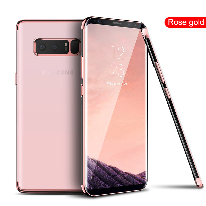 SIXEVE Transparent Silicone Case For Samsung Note 8 9 J2 J3 J5 2016 J7 2017 Prime J4 A6 2018 A8 A3 A5 A7 S8 S9 Plus S7 S6 Edge in Fitted Cases from Cellphones Telecommunications