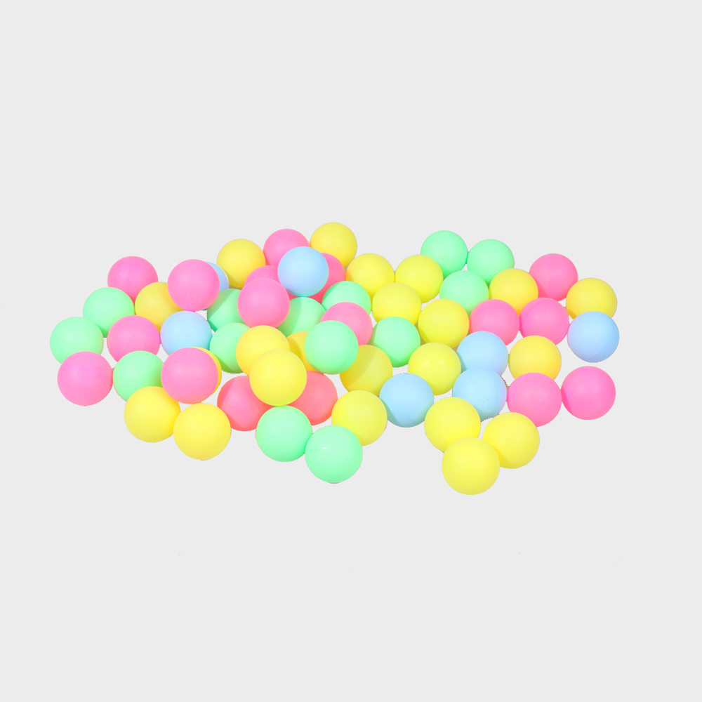 100/60/50 Pcs Fine Quality Ping Pong Balls Table Tennis Balls Training Plastic Ball Bulk Colorful Plastic Decoration Touch Ball