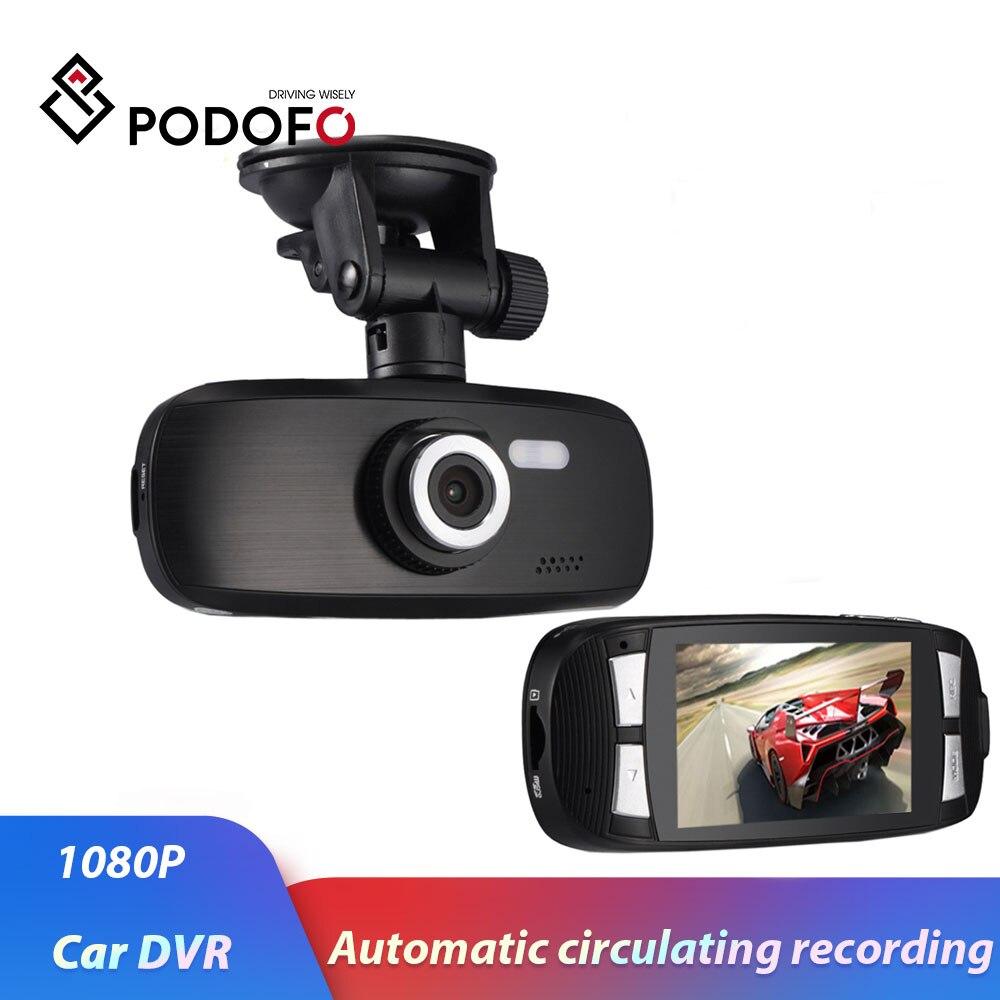 "Podofo Dash Cam Original Car Video Recorder G1w Car DVR camera with Novatek 96650 + Wdr Technology + 2.7"" LCD Car Camera Gs108-in DVR/Dash Camera from Automobiles & Motorcycles    1"