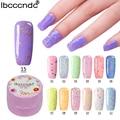 Ibcccndc 7ml UV LED Gel 24 Fresh Colors Cheese Gel Manicure Nail Kit For Nail Gel Varnishes Lak Top Base Coat Needed Gelpolish