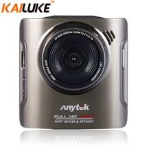 Cámara Del Coche DVR Grabador Dash Cam DVR Anytek A3 Auto cámara de Vídeo G-sensor de la Caja Negra de La Visión Nocturna Novatek WDR 96655 FHD 1080 P