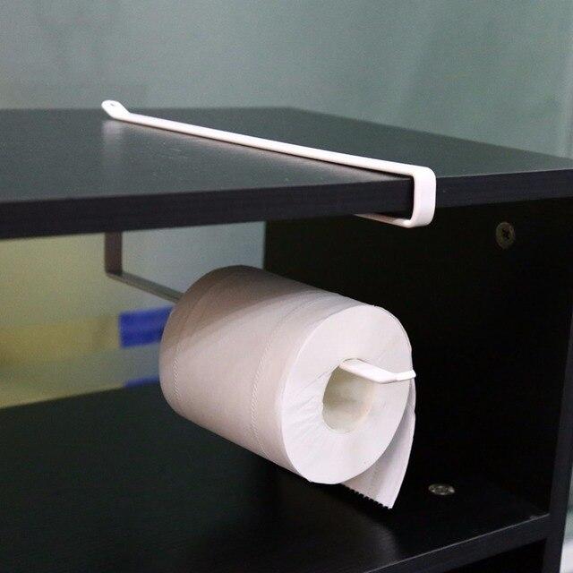 Amazing Küche Papierrollenhalter Hängen Badezimmer Toilettenpapierrollenhalter  Papier/Handtuchhalter Küche Wand Selbst Schrank Haken . Ideas