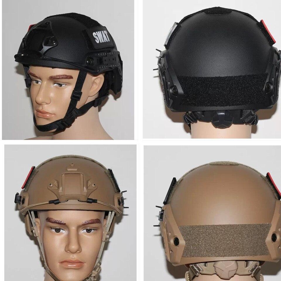 Prix pour Mh ops casque rapide noyau airsoft tactique casque parfait casque pour l'extérieur de guerre activités jeu