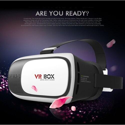<font><b>VR</b></font> BOX II 2.0 Google Cardboard HeadMount Version Virtual Reality 3D <font><b>VR</b></font> <font><b>Glasses</b></font> <font><b>for</b></font> <font><b>3.5</b></font> - <font><b>6.0</b></font> <font><b>inch</b></font> Smart Phone