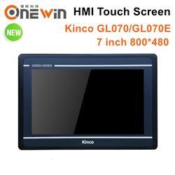 Kinco GL070 GL070E HMI сенсорный экран 7 дюймов 800*480 Ethernet 1 USB хост новый интерфейс человека обновление MT4434TE MT4434T