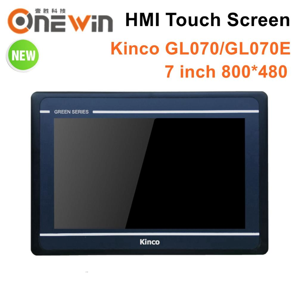 Kinco GL070 GL070E HMI Touch Screen 7 Inch 800*480 Ethernet 1 USB Host New Human Machine Interface Upgrade MT4434TE MT4434T