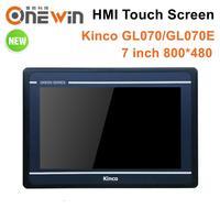 Kinco GL070 GL070E HMI Touch Screen 7 inch 800*480 Ethernet 1 USB Host new Human Machine Interface upgrade MT4434TE MT4434T
