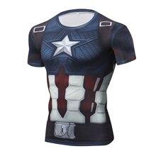 Marvel 4 Endgame Captain America t shirt Summer tshirt 3d print Superhero compre