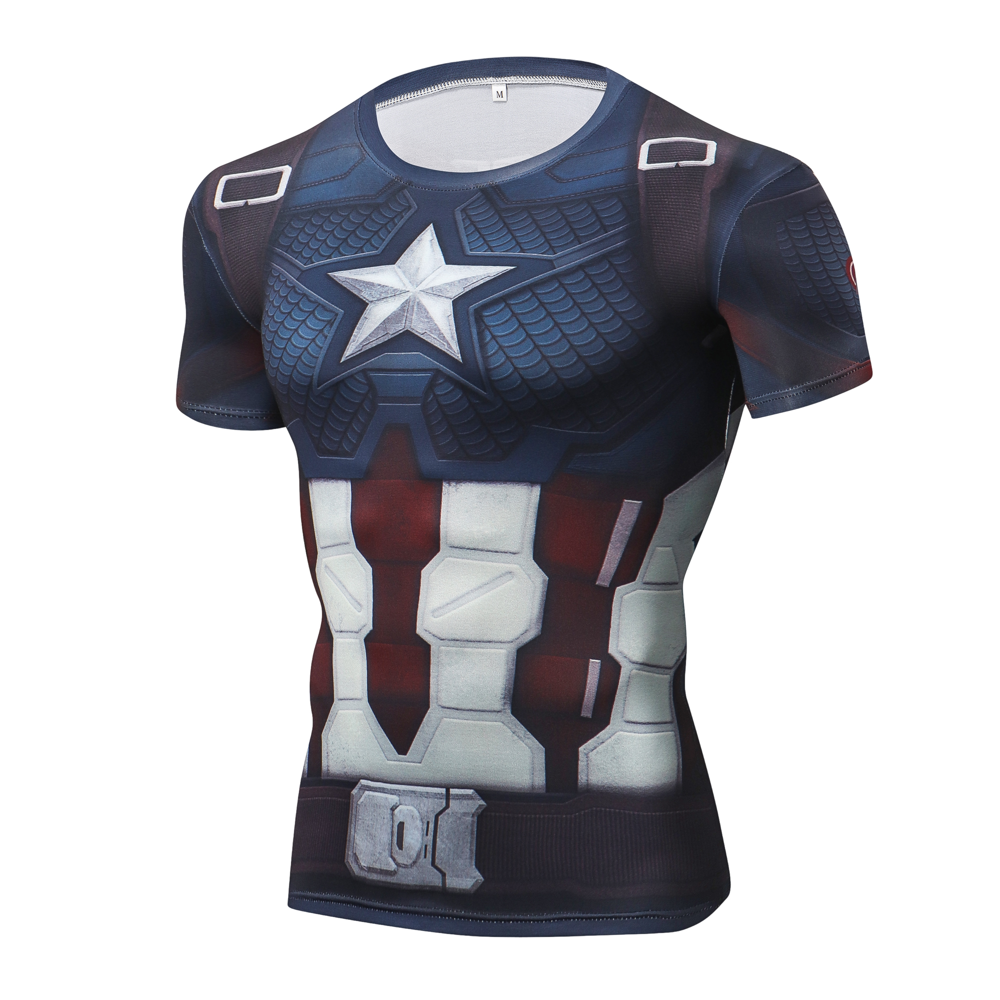 Marvel 4 Endgame Captain America T Shirt Summer Tshirt 3d Print Superhero Compression Shirt Sweatshirt Fitness Clothing