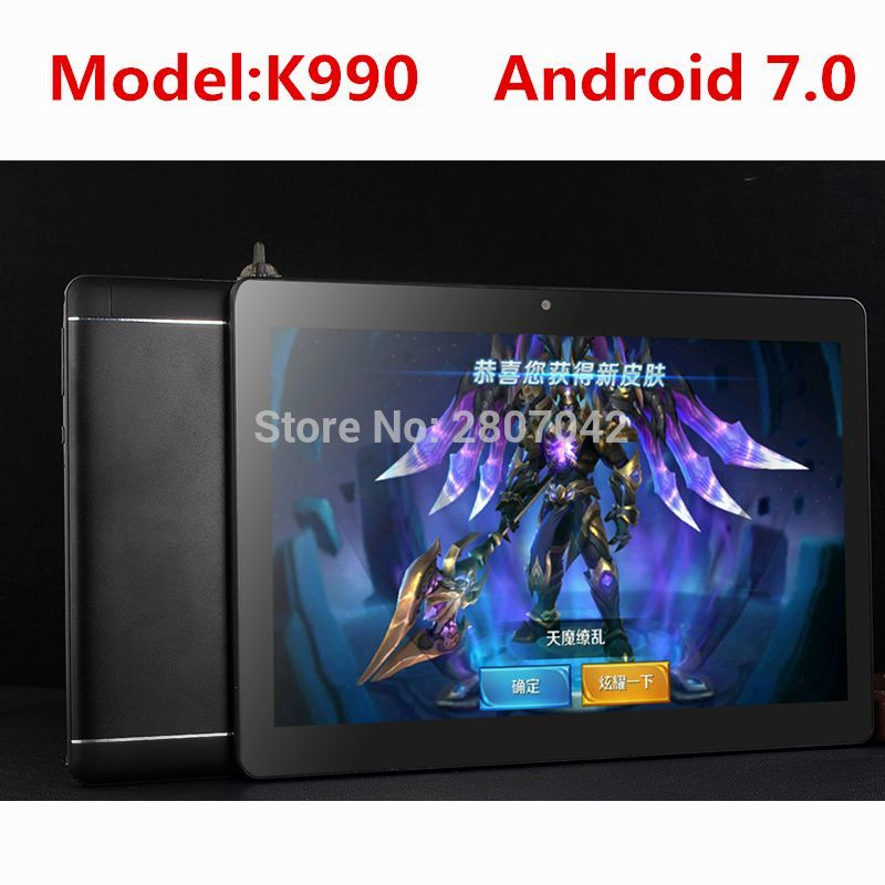 10 inch tablet PC Octa Core Android 7 0 4GB RAM 32GB ROM 8 Core Dual