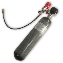 Acecare HP 300bar CE Composite Carbon Fiber Tank With Air Valve And Fill Station For Pcp Mini Scuba Diving Tank Acecare AC102201