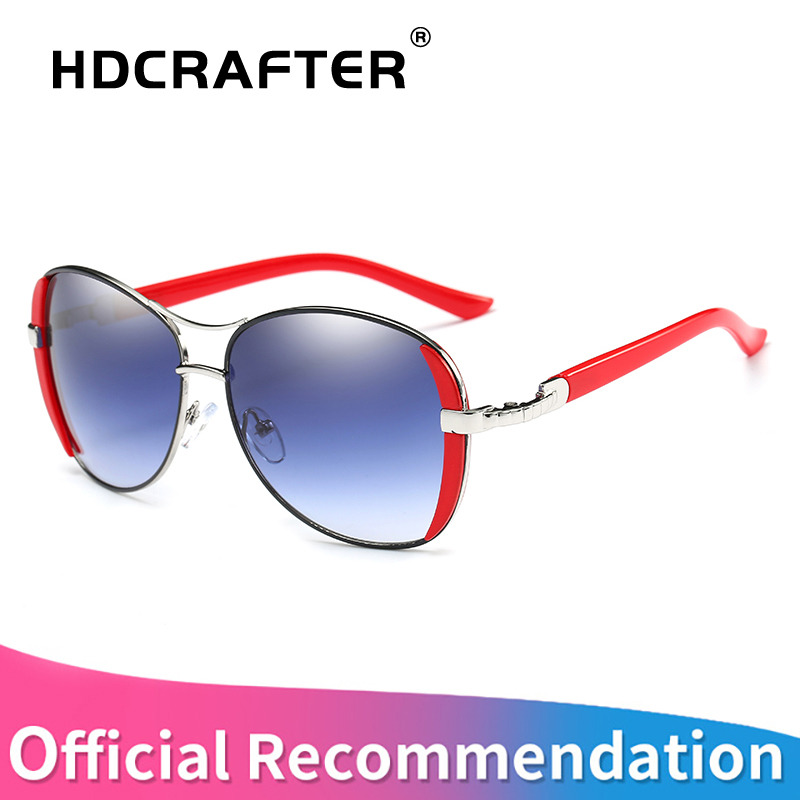 Hdcrafter 2017 Роскошные Брендовые женские солнцезащитные очки новые элегантные очки anteojos де Sol Mujer солнцезащитные очки для женщин Óculos De Sol