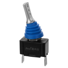 Jtron 12/24v 20A/40A Waterproof Toggle switch On-Off for car board Modified jtron diy 2 pin toggle switch on off blue silver 5 piece pack