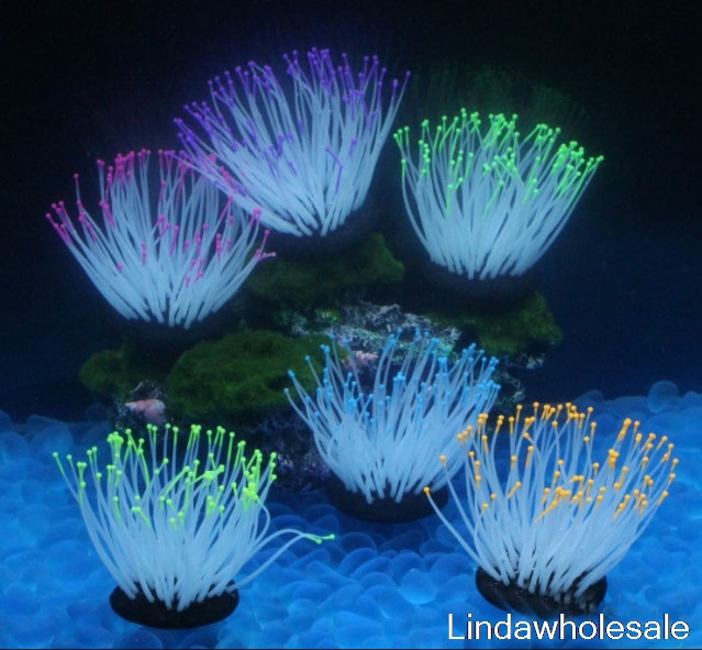 The underwater world,Aquarium decoration,Plastic plant ,1pcs/lot image