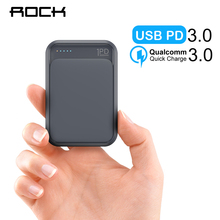 ROCK Portable Mini PD 10000mah Power Bank External External
