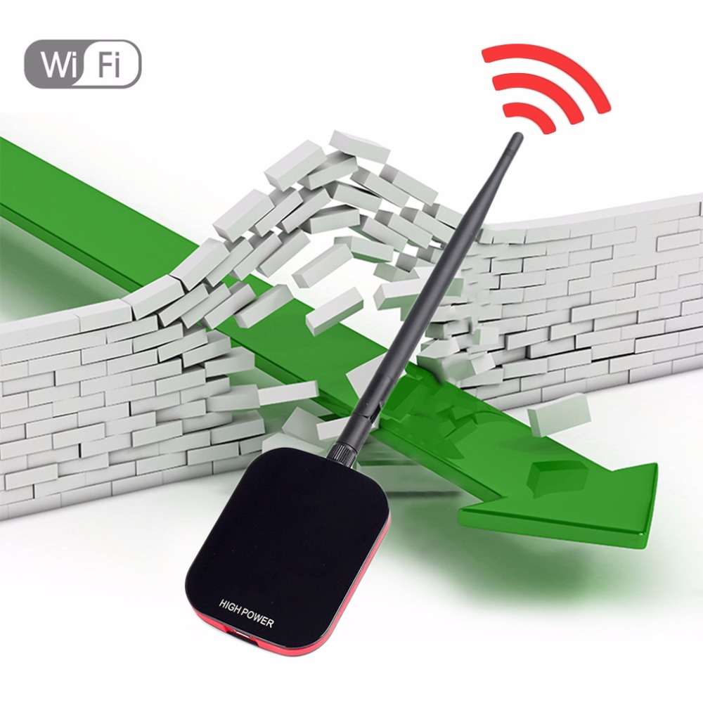 High Power Speed N9000 Free Internet Wireless USB WiFi Adapter 150Mbps Long Range + Wi Fi Antenna Wi-fi Receiver