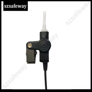 Image 2 - 5PCS/LOT Two Way Radio Earphone Walkie Taklie Headset For Hytera PD505 TC 700 TC 610 TC 620 TC 518 TC 580 TC 446S TC 508