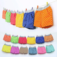 Kz-3695 2017 Summer Wear Han Banbo Point Catamite Girl Children's Garment Baby Children Tight Pants Shorts You Summer Pants
