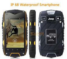 Оригинальный Китай дешевый Z6 MTK6572 Dual Core Прочный Android-смартфон IP68 Водонепроницаемый противоударный пылезащитный телефон 3 г GPS