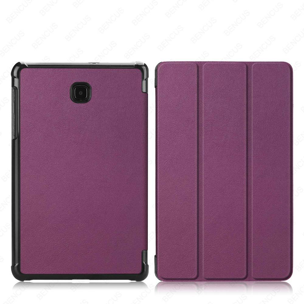 Ultra Slim PU Leather Case For Samsung Galaxy Tab A 8.0 SM-T387 T387V Tablet Cover Funda For Samsung Galaxy Tab A 8.0 2018 Case