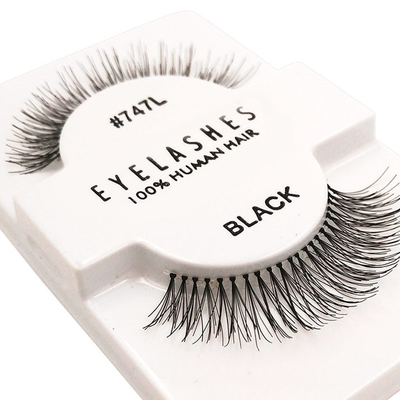 Artificial Crisscross Nep Wimpers Fake Eyelash Naked Make Up Valse Lashes Beautiful Wispies False Eyelash Popular 3d Lash