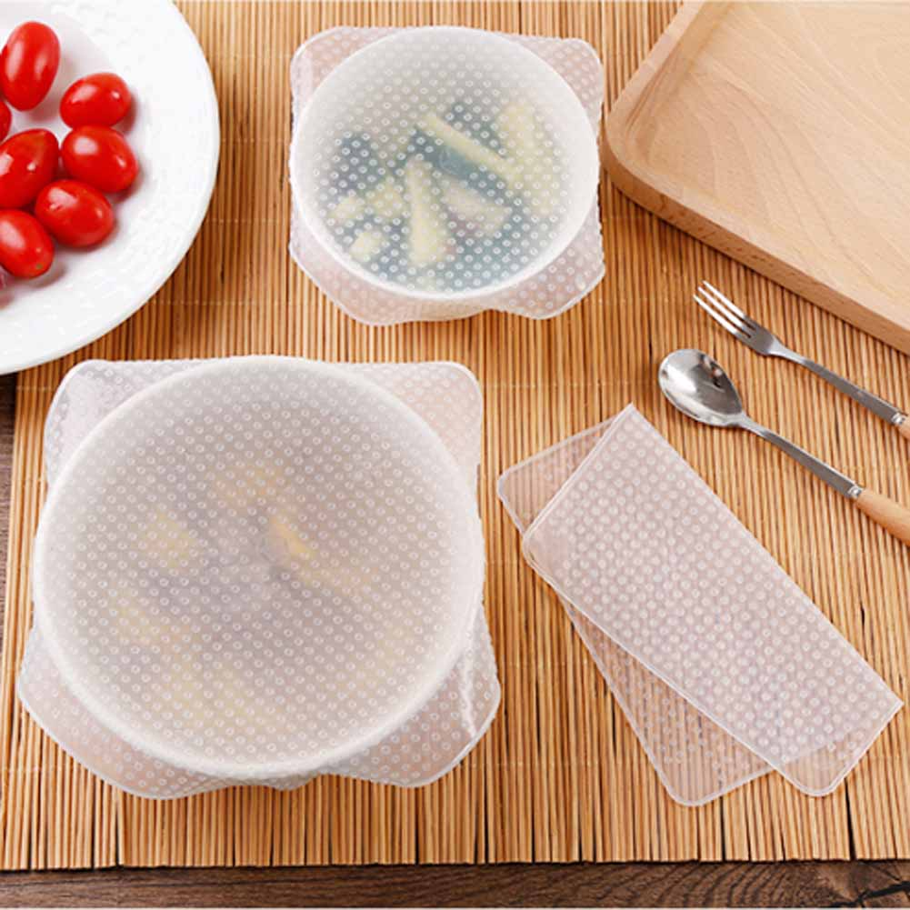 DesertCreations Kitchen Tools Silicone Cover Lid Stretch