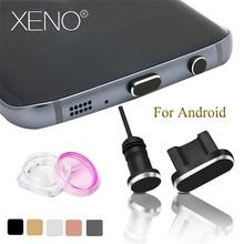 2PCS/Set Dust Plug accessories for Micro USB Mobile Phone 3.5mm IR Port Headset Stopper Metal Charging + Earphone